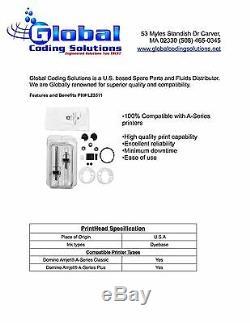 L23511 Domino 36610 Kit De Réparation De La Pompe Cji Coder Pieces De Rechange