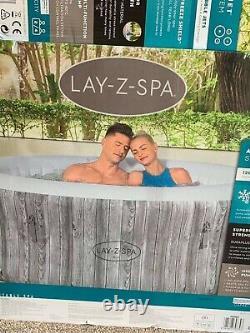 Lay-z-spa Fiji Brand New 2-4 Person Inflatable Hot Tub 2021 Version Gratuite