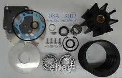 Major Kit De Réparation Jabsco Pompe 18780-0001 Detroit Diesel 8927296 12v71ti 12v92ta