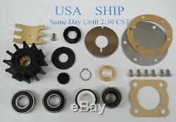 Major Kit De Réparation Jabsco Pompe 9970-200 Perkins 4107 4108 Ford Lehman 150 Turbo