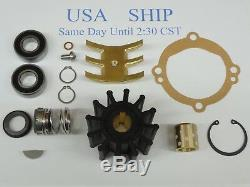 Major Kit De Réparation Pour Sherwood Eau Brute Pompe D05 D05 10615 Chris Craft Impulseur