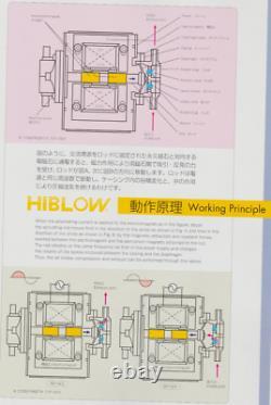 Nouveau Kit De Réparation Majeur Avec Tubes Intégrés Pour Pompes Hiblow Xp80