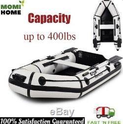 Pêche Kayak Bateau Gonflable Kayak 2 Personne Set Avec Pompe À Pied Et Kit De Réparation