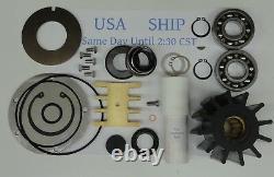 Pompe À Eau Rotor Kit De Réparation Majeur Volvo Penta 3826296 3830699 3836564 Tamd74a