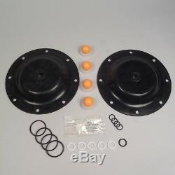 Pompe À Membrane Kit De Réparation (nitrile) Pour Aro Modèle 666100-362-c, Réf 637119-62-c