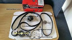 Portes Courroie De Distribution Kit Et Pompe À Eau Audi A4 A6 Quattro 2.5tdi 24v Afb Bdh Ake