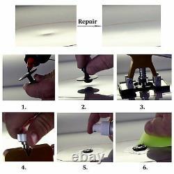 Pro 27pcs Enlèvement De La Queue Puller Rods Peintless Kit De Réparation Sac De Pompe