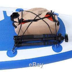 Réglable 10'10 Sup Gonflable Stand Up Paddle Surf Board Pompe Avec Le Kit De Réparation