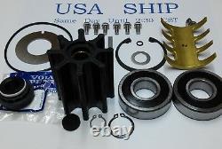 Sea Water Pump Major Repair Kit Volvo Penta D6 Series With Hose On Cover 21380890