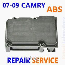 Service De Réparation 2007-2009 Toyota Camry Abs Module De Commande De Pompe