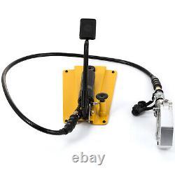 Split Hydraulic A/c Hose Crimper 6 Meurt Avec Kit De Réparation De Climatiseur De Pompe À Pied