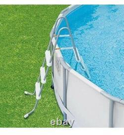 Vagues D'été 14 Pieds Elite Frame Baignade Pool Avec Système Pump Filter