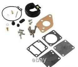 Véritable Tohatsu 4hp 5hp 2-st Outboard Carburettor & Fuel Pump Repair Rebuild Kit