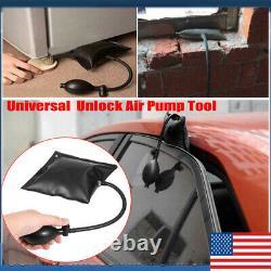 Voiture Auto Door Open Tool Key Lock Out Emergency Tools Kit Unlock Air Pump Us Powe