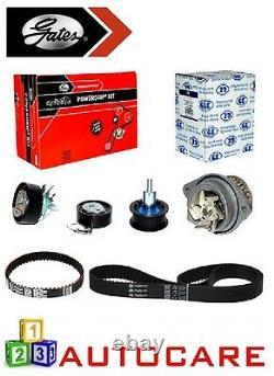 Vw Polo Golf Caddy 1.4 16 V Timing/cam Belt Kit & Water Pump Par Gates